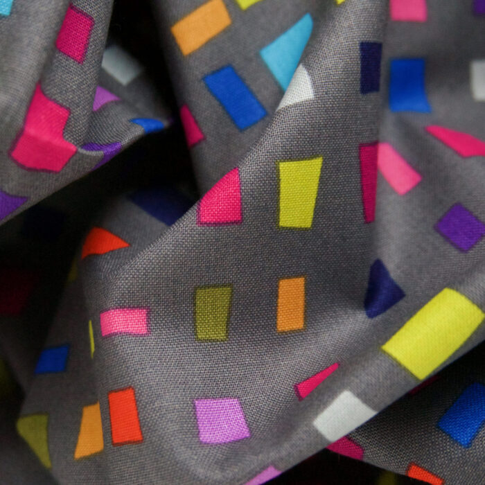 Grey Points of Hue Colorbox fabric ©Kris Ruff