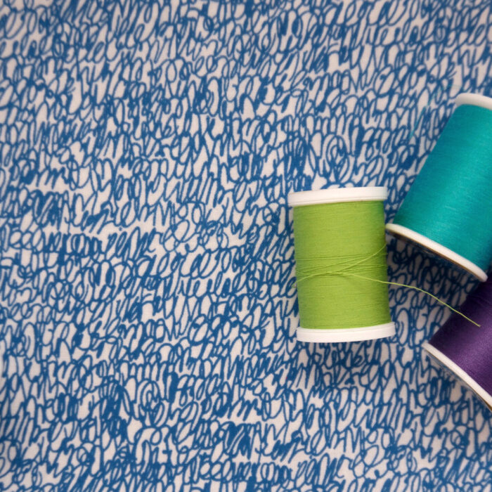 Manuscript Fabric ©Kris Ruff